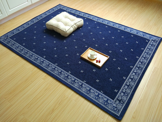 Japanese Floor Carpet Area Rug Large 2 Size185 200cm Futon Mat Portable Tatami Pad Fashion