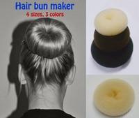 Big Hair Doughnut Hair Donut Hair Bun Updo Maker Styling Big Size Maker 16cm Free Ship