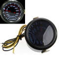 1 set Universal 52mm White Digital LED Turbo Boost Meter Gauge Smoke Tint Lens Psi Car Truck Parts Gauges