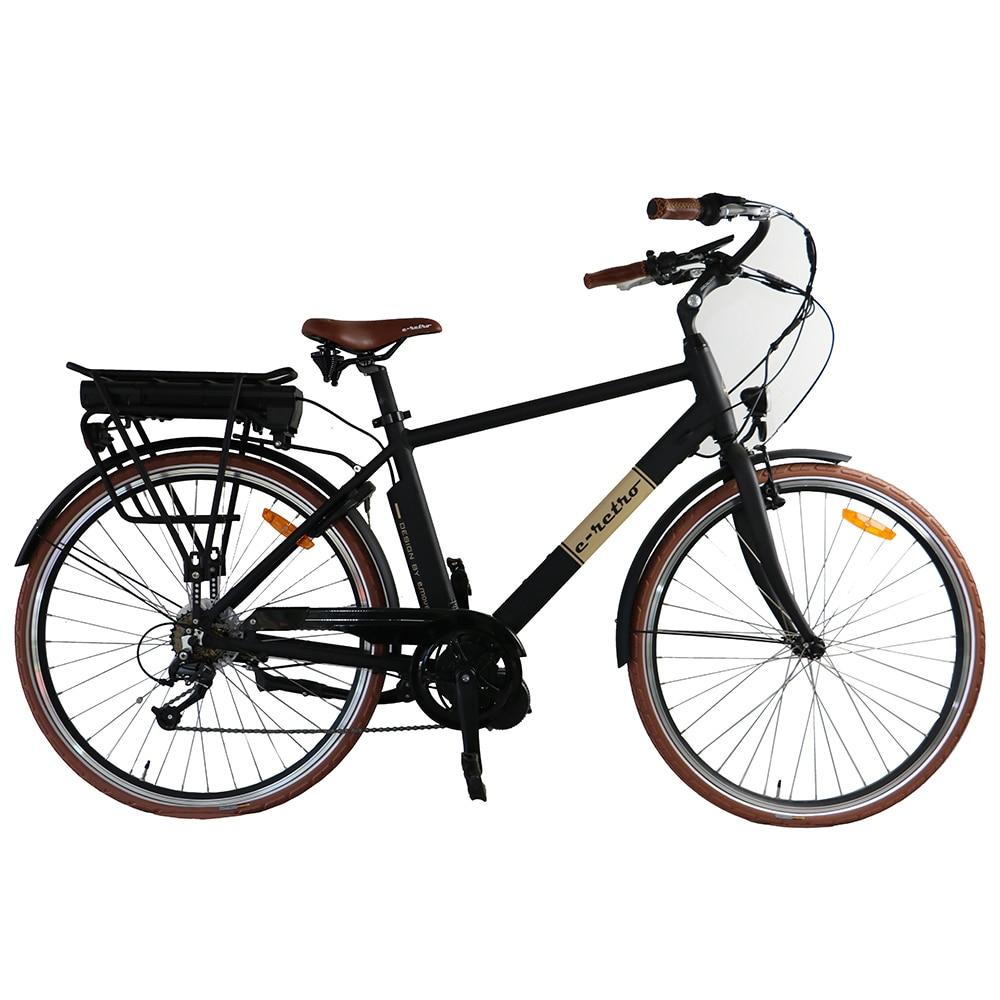 Падение Северной Америке доставка 36V250W бафане середина приводной Двигатель город Электрический велосипед с 36v 10.4 AH для человека