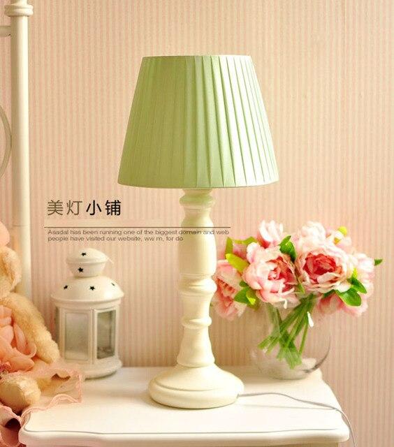 Pays Style Lampes De Table En Bois Romantique Chaud Lampe De Table