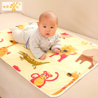 75*120cm Changing Pads Reusable Baby Diapers Mattress Diapers for Newborns Three Layers Of Cotton Waterproof Changing Mat