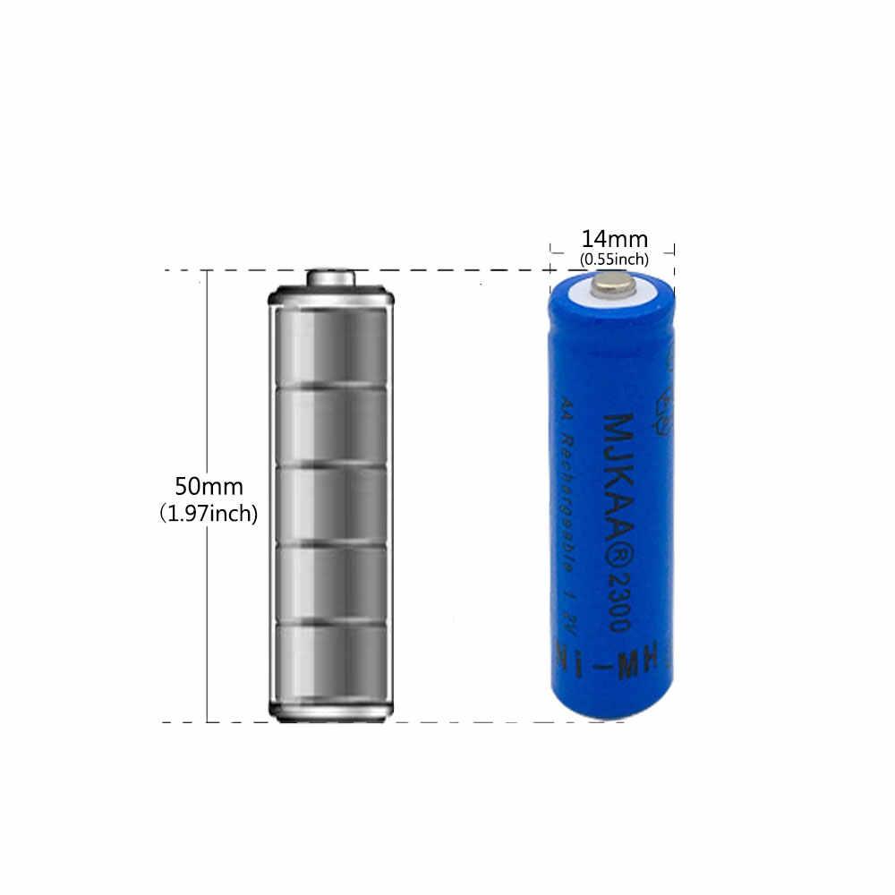 20 pcs AA blue 2300mAh Ni-MH Rechargeable Batteries + 20 pcs AAA 1600mAh Rechargeable Batteries