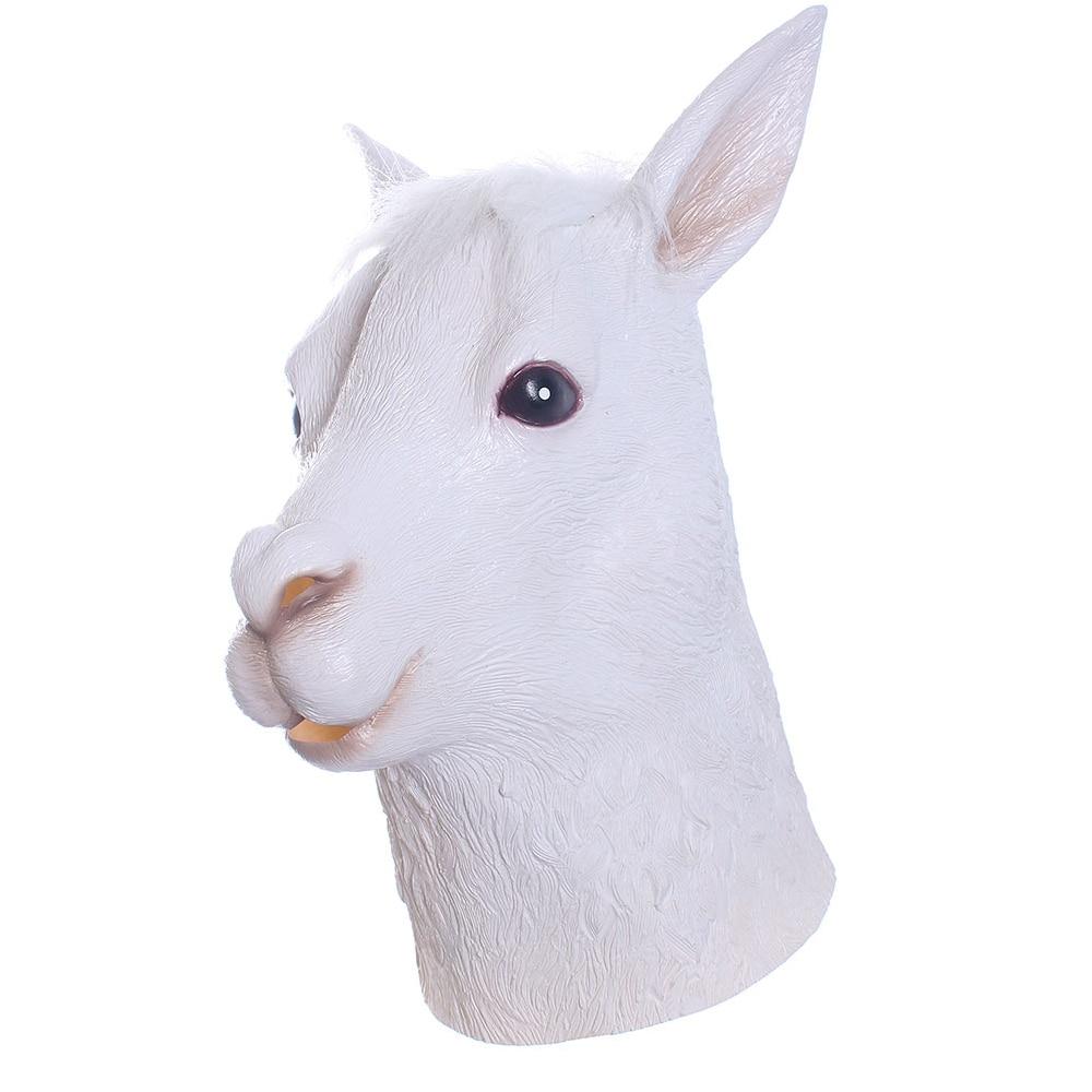 Aliexpress.com : Buy Funny Alpaca Mask Adult Cosplay Animal Head ...
