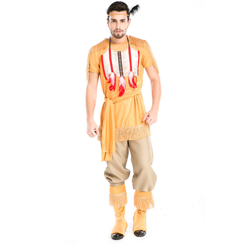 new and real male costumes halloween cosplay costumes masquerade india man soldier role play disfraces fancy costumes h15727 - Male Costumes Halloween