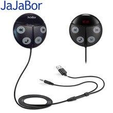 Jajabor Bluetooth-гарнитуры для Авто Hands Free Беспроводной fm-передатчик AUX 3.5 мм аудио MP3 плеера Handsfree вызова USB Автомобильное Зарядное устройство