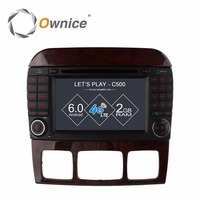 Ownice C500 Android 6 0 Quad Core Car DVD Player For Mercedes S Class W220 S280