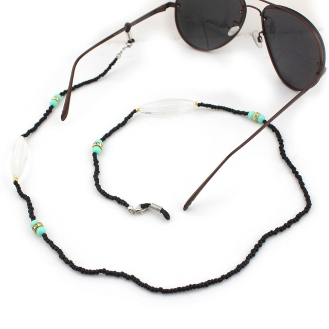 6a521dd44f Reading Glasses Chain Acrylic Beads Sunglasses Holder Handmade Neck Strap  Rope Eyewear Accessories Lanyards