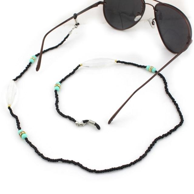 918e3f40dc9d Reading Glasses Chain Acrylic Beads Sunglasses Holder Handmade Neck Strap  Rope Eyewear Accessories Lanyards
