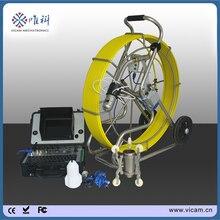 80 м/100 м толкатель лоток для кабеля наклона CCTV Инспекционная камера роботизированная камера для канализационных труб с счетчиком V8-3288PT-1