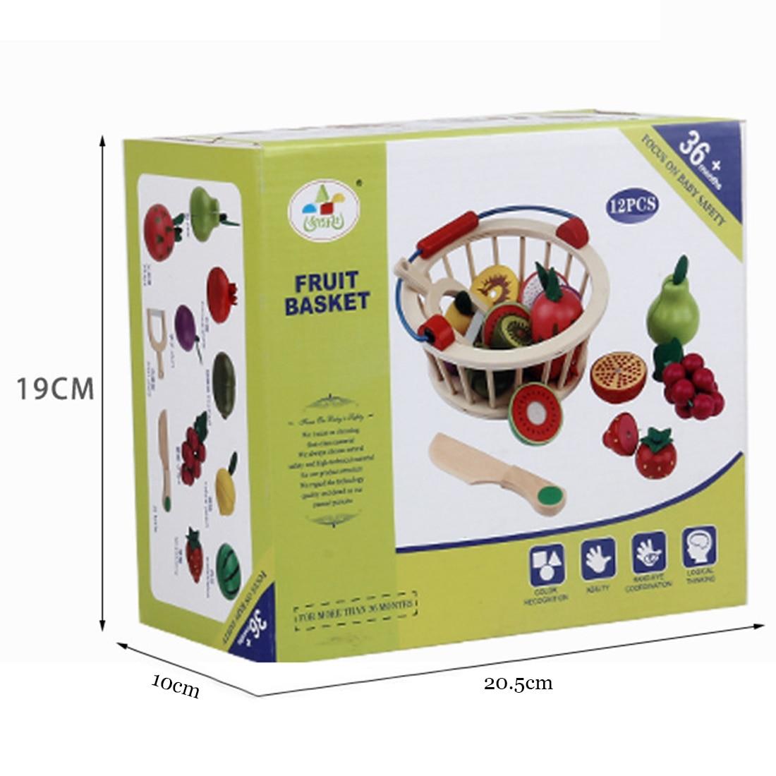 12 pcs de madeira magnetica frutas 04