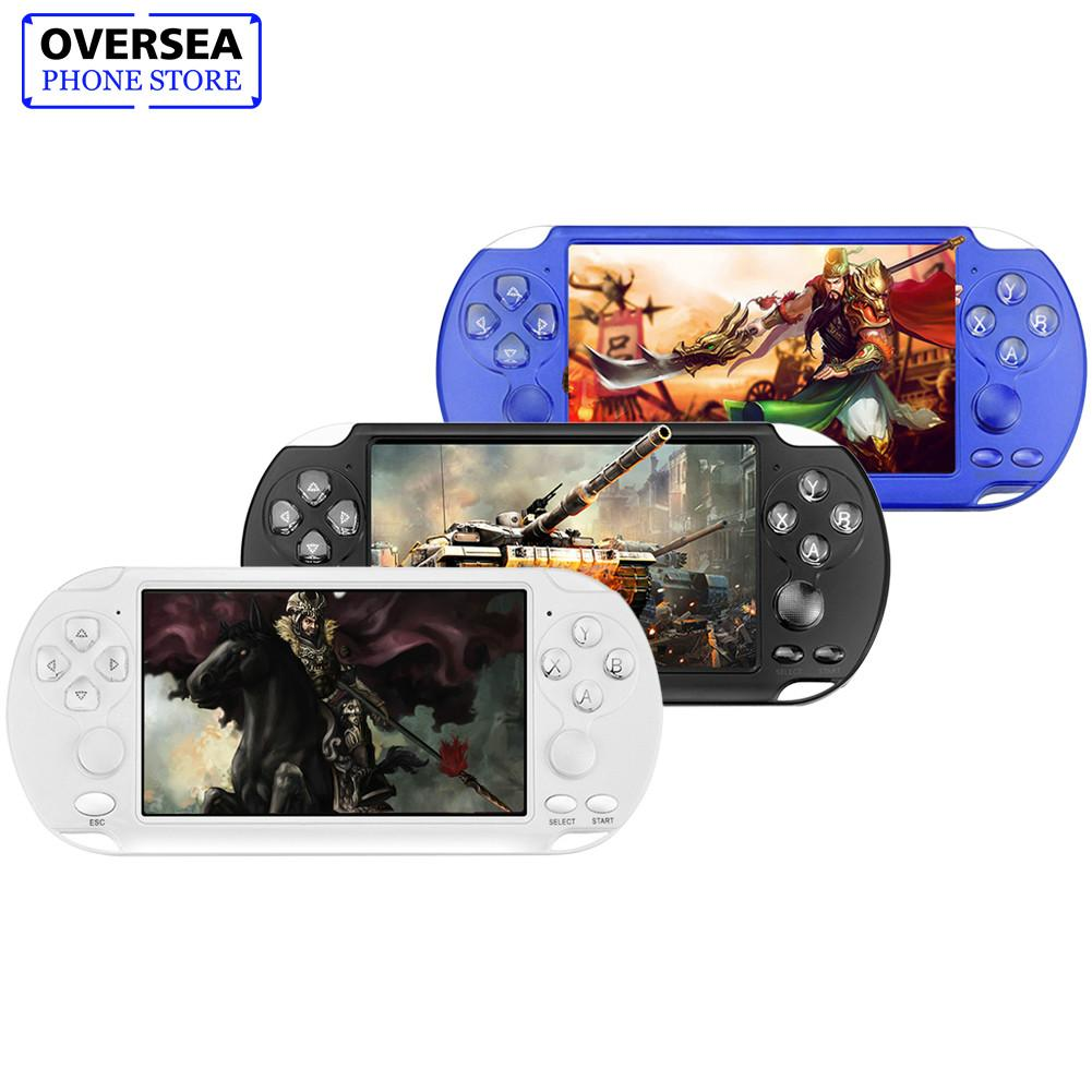 X9-s 8G Retro Game Console Colorful Screen Childrens Puzzle 5.1Inch PSP Double Rocker Handheld Game Console Multi-languageX9-s 8G Retro Game Console Colorful Screen Childrens Puzzle 5.1Inch PSP Double Rocker Handheld Game Console Multi-language