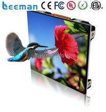 Leeman CE RoHS ETL SMD3535 Полноцветный P6, P8, P10 открытый smd литья алюминия прокат светодиодный дисплей/Супер тонкий светодиодный экран