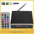 Amplificador de Potência de Áudio MP3 Player Reader 4-electronic teclado Suporte USB SD Mmc com Controle Remoto
