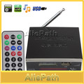 MP3 Audio Player Power Amplifier Reader 4-Electronic Keypad Support USB SD MMC Card with Remote