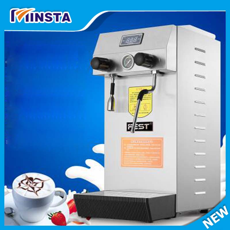 steam boiled water machine hot water machine milk foam machine commercial bubble tea machine Milk Frother edtid new high quality small commercial ice machine household ice machine tea milk shop