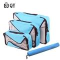 Travel Hand Luggage Nylon Packing Cube Men Women Large Capacity Unisex Clothing Organizer Accessories Bag Carry-on