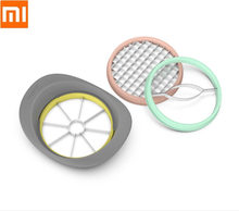 Xiaomi Three-in-one fruit slicer Melon knife multi-function slice Fruit knife fruit slicer flesh separation tool cut the fruit(China)