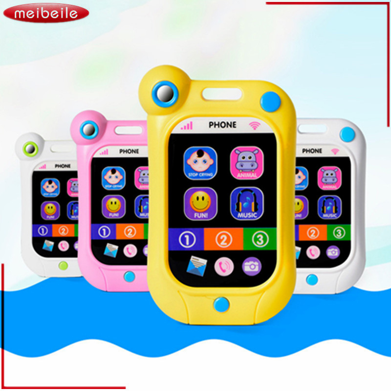 ABS Toy Phones Childrens Educational toy Simulation Music Mobile Phone Toy for Child Birthday Gift Electronic Toy Phone