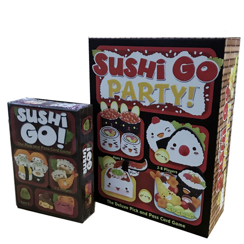 sushi go Board game CARDS 2-5 Players Family Game For Children With Parents Funny Puzzle Game for Gift