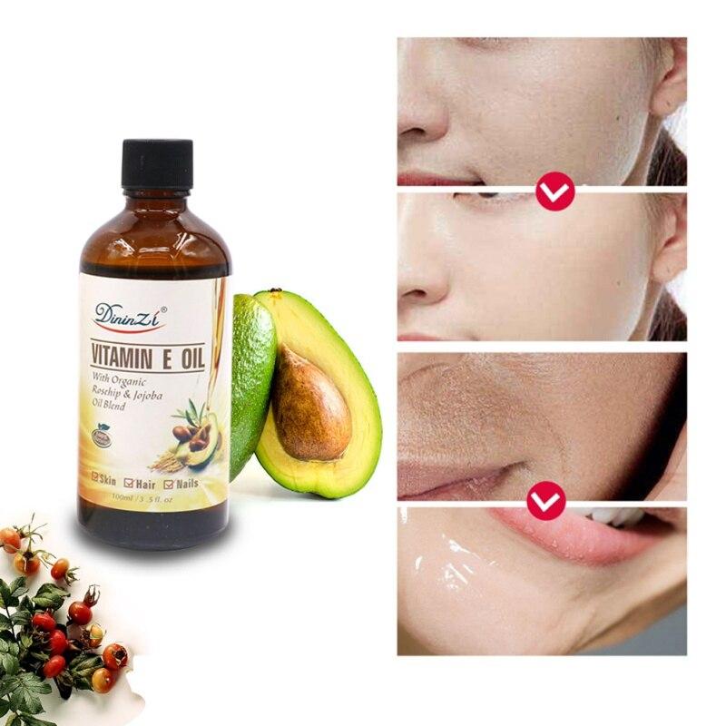 Pure Natural Massage Spa Avocado Vitamin E Essential Oil Cold Pressed Moisturiser Castor Oil Hydrating Hair Care new 4