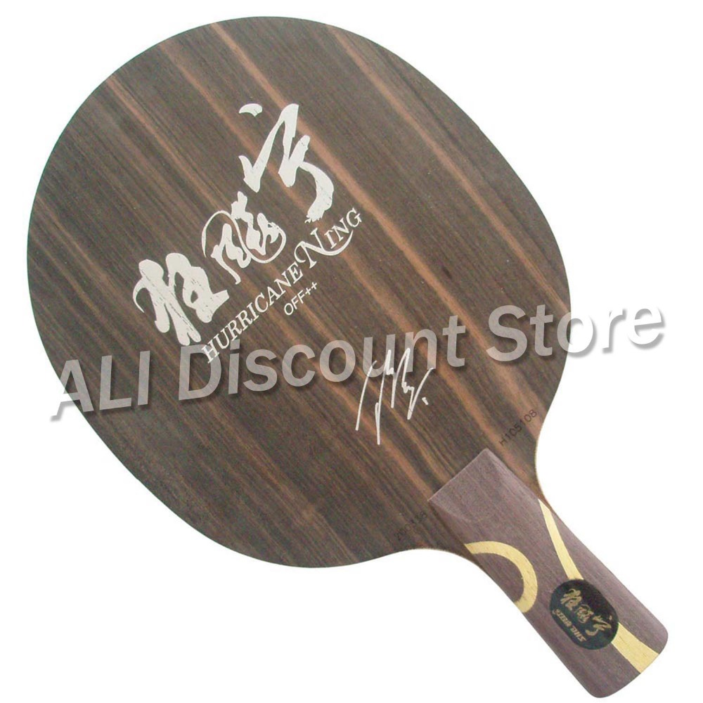 DHS Hurricane Ning 5-Ply OFF++ Table Tennis Blade Chinese penhold short handle CS for PingPong Racket [playa pingpong] dhs k161 chinese naitional version vis structure balde