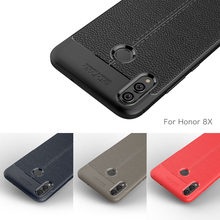 Carbon Fiber Case For Huawei Honor 8X / Huawei Honor 8 Case Soft Cover For Huawei Honor 8X Honor8 Phone Coque Fundas Etui Capa(China)