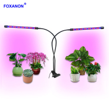 Foxanon LED Growing Lamp Bulbs 8 Level Dimmable Grow LED Full Spectrum Timing Phyto Lamp Bulb Indoor for garden greenhouse Light