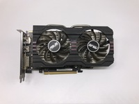 Б/у, Видеокарта ASUS R7 260X2 GB 128bit DDR5 для настольных ПК, 100% протестирована хорошо