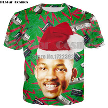 PLstar Cosmos Brand Summer Fashion Men/Women Cool T-shirt The Fresh Prince of Bel Air Will Smith 3d Print T shirt Soft shirts
