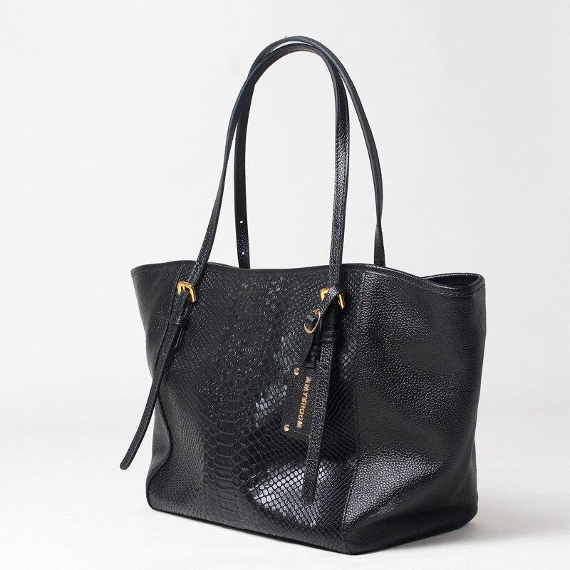 luxo Genuine Large Tote : Women Genuine Leather Genuine Large Tote Handbags Designer