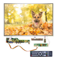 17 cal monitor lcd 1440x900 LVDS 30 pinów ekran B170PW03 V4 panel wyświetlacza z V53 uniwersalny TV VGA AV HDMI USB płyta sterowania w Ekrany LCD do tel. komórkowych od Telefony komórkowe i telekomunikacja na