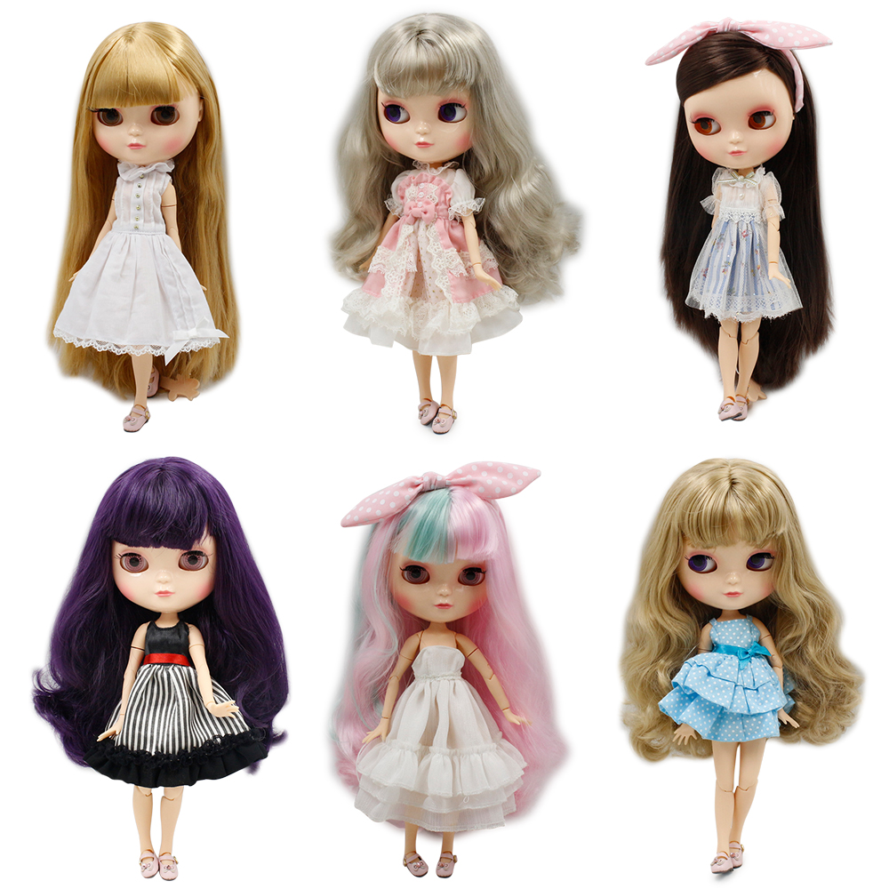 Fortune Days ICY Doll 1/6 joint body including hand setAB like the blyth doll High Quality Special offer with makeup New List