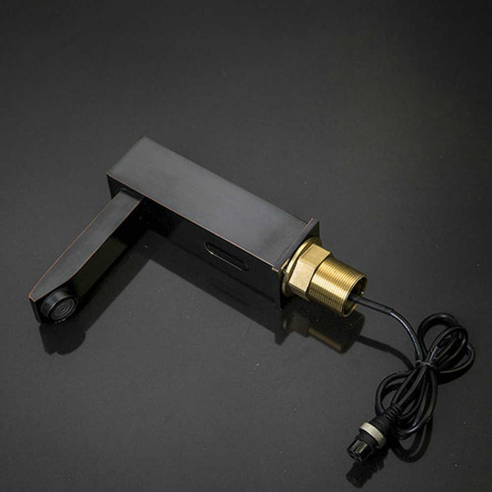 KEMAIDI ORB חם וקר ידיים אוטומטיות Touch חיישן חינם מגופים חומר פליז ברז אמבטיה ברז כיור בחדר אמבטיה