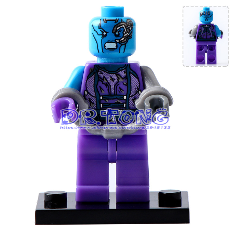 DR.TONG 20pcs PG160 2017 Guardians of the Galaxy 2 Movie Nebula Building Blocks DIY Toys Children Gifts PG8044