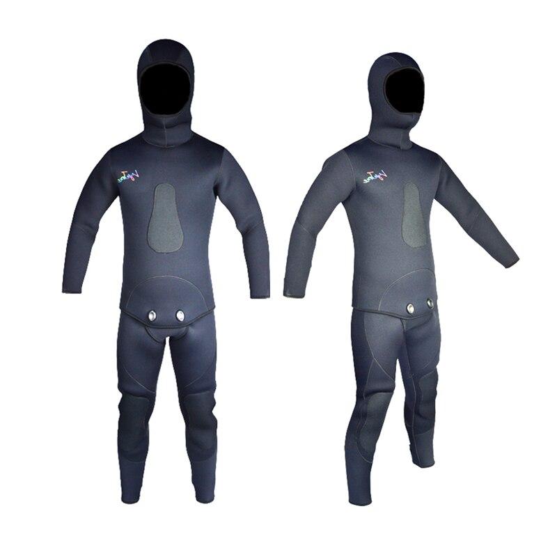 2016 Spring New Spearfishing Diving Gear Neoprene Wetsuit Men 7mm WS-100-7