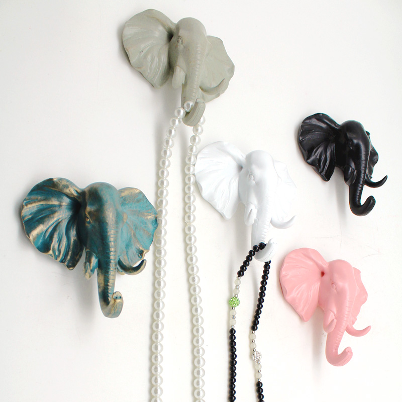 Decorative Wall Hooks For Hanging popular animal head wall hanging coat hook-buy cheap animal head