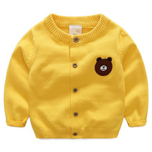 2016 autumn children's clothes solid long sleeve baby girls cardigan knitted sweaters for girls kids thin sweaters outerwear top 2018 knitted girls sweater autumn sweaters for girls v neck girls top winter teen kids girls clothing christmas gift cardigan 12