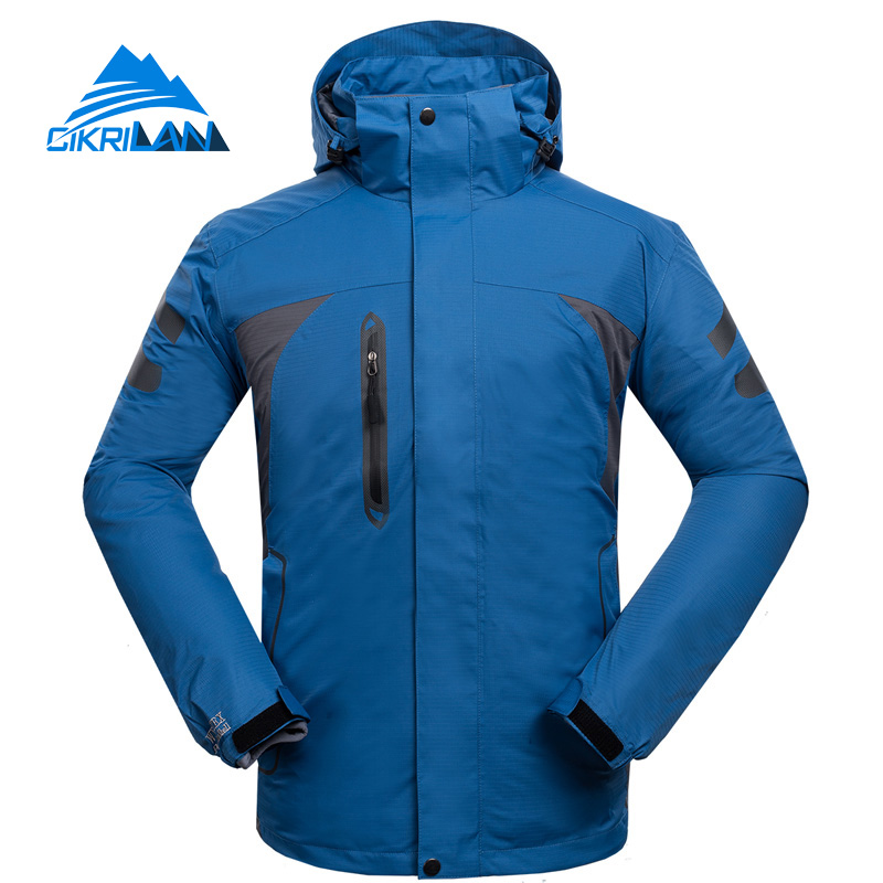 High Quality Skiing Outdoor Sport Camperas Hombre Windstopper Warm Doudoune Hiking Veste Homme Camping Winter Jacket Men Coat hot sale windstopper water resistant coat 2in1 hiking winter jacket women outdoor veste breathable camping chaquetas mujer