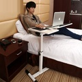 The Nobel household lifting and rotating tilt adjustable bedside mobile notebook comter desk white lazy land FREE SHIPPING
