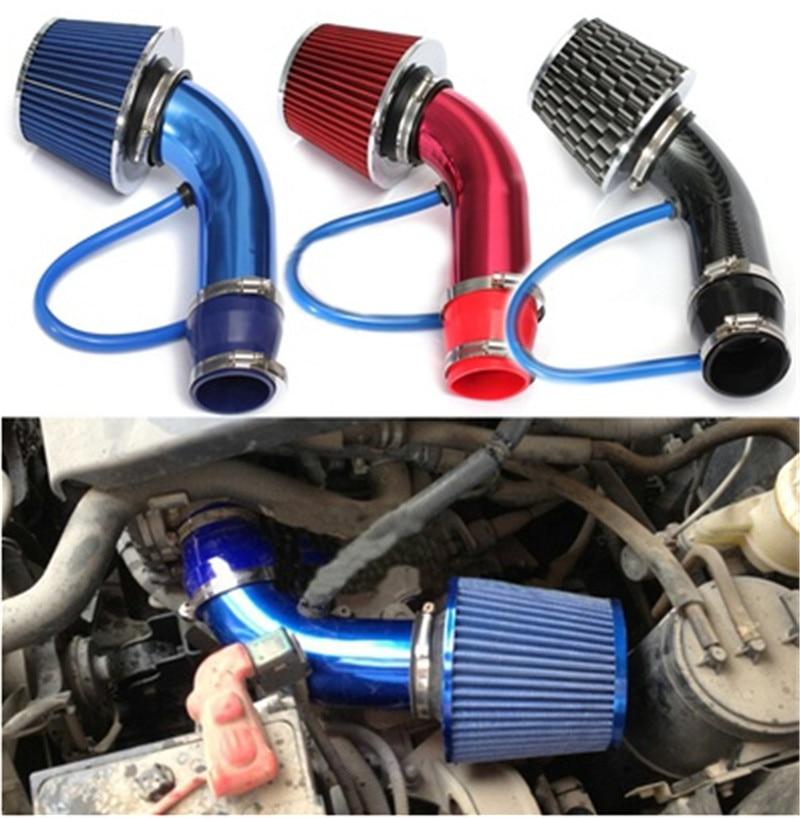 Car Engine Intake Pipe Air Filter Mushroom Head Productivity Air Filter 76Mm Inlet Air Filter 160mm High Flow High Cold Air Cone