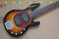 New arrival! Custom guitar light color 5 string bass electric bass guitar