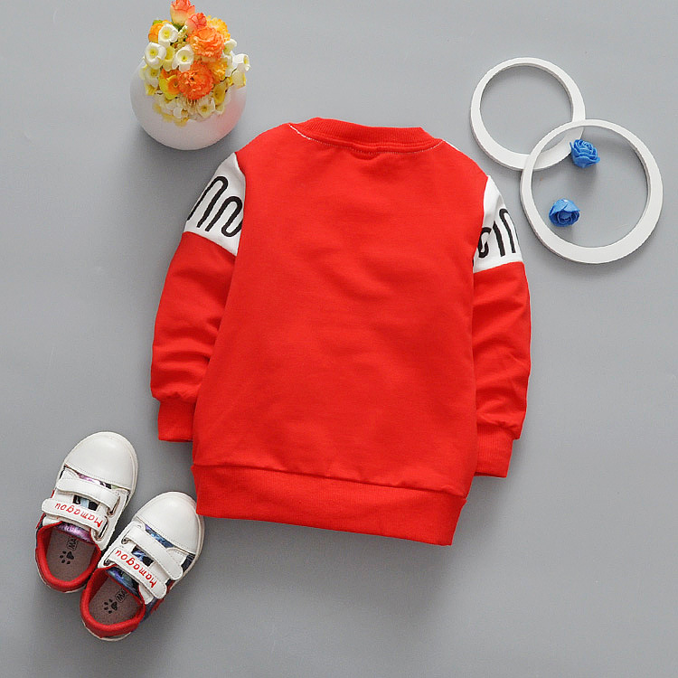 New-spring-Autumn-Casual-boys-Kids-Children-patchwork-Wave-stripe-printing-Long-Sleeve-o-neck-Baby-T-shirt-Y2061-2