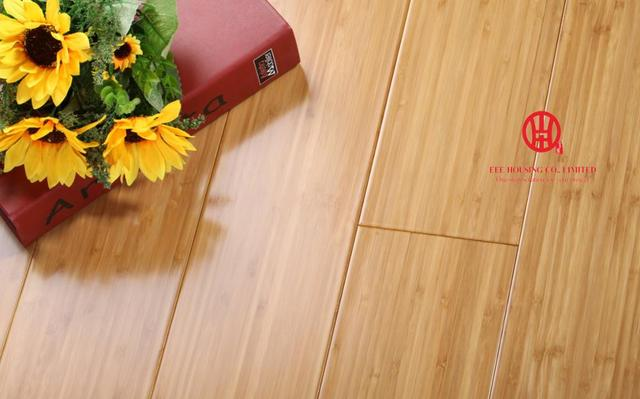 1030 126 18mm Carbonized Vertical Indoor Bamboo Flooring Eco Friendly Floors For Apartment