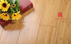 1030*126*18mm Verkoolde Verticale Indoor Bamboe Vloeren, milieuvriendelijke Indoor Bamboe Vloeren Voor Appartement