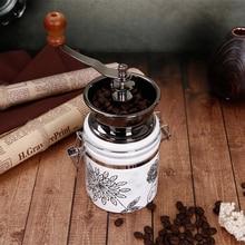 MICCK manuel kahve değirmeni seramik çekirdek kahve el değirmen Coffeeware kahve çekirdekleri biber baharat öğütücü seramik deği...