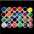 DIY New 24 PCS Glitter Mix Color UV Builder Gel Acrylic Set for Nail Art Tips