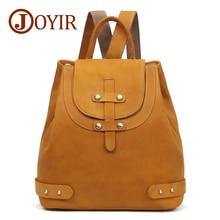 JOYIR Backpack Female Genuine Leather Backpacks For Women School Bag Travel Backpack Women Leather Backpack For Girls Mochila