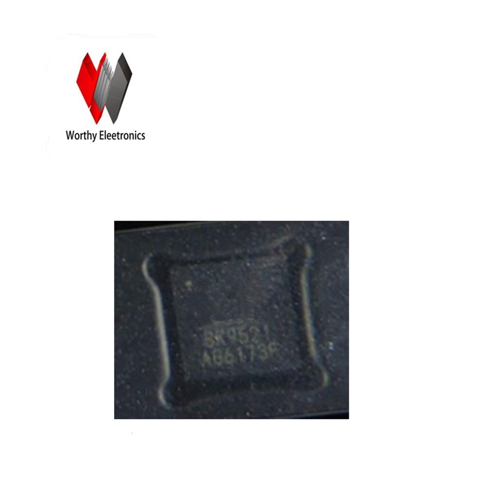 Free shipping 10PCS LOT Wireless microphone transmitting receiving chip QFN32 BK9522 BK9521
