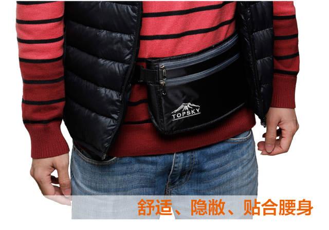 02ad56668a437 Online Shop Topsky 5L fanny pack sports bag Waterproof women bag travelling  cycling waist bag sports belt bag men mochilas coach handbags